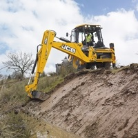 Backhoe Loader for Equipment and Features page